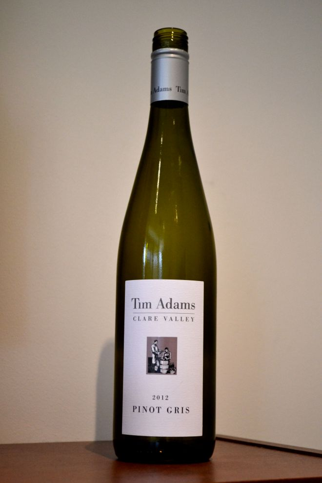 Tim Adams Pinot Gris Clare Valley 2012