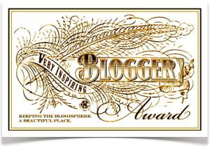 Inspiring Blogger Award